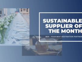 Sustainable Supplier of the Month